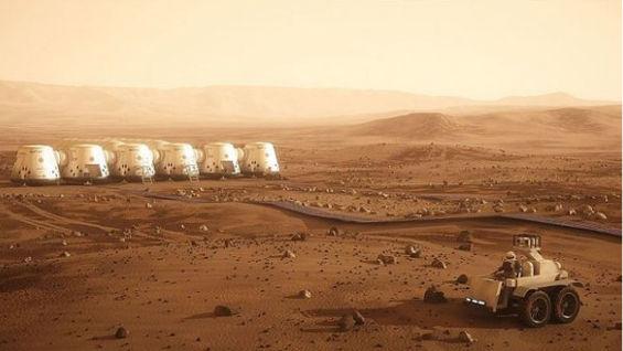 """Elon Musk anuncia """"planes"""" para enviar 80,000 personas a Marte e instalar una colonia - construir-colonia-en-marte"""