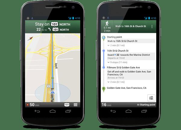 Google anuncia Google Maps Navigation (Beta) para Android en México - google-maps-gps-android
