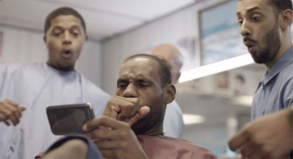 Galaxy Note II es anunciada en EEUU por LeBron James - lebron-james-Galaxy-note-ii-590x321