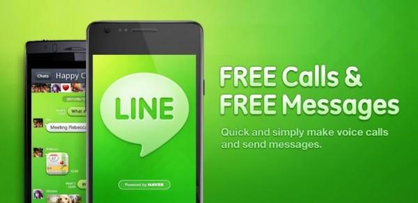 line naver 600x292 Line, la popular alternativa a Whatsapp ya cuenta con versión en español para Android