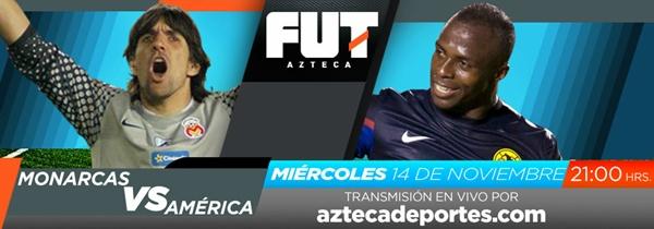 Morelia vs América en vivo, Cuartos de Final del Apertura 2012 (Liga MX) - monarcas-america-cuartos-ida-apertura-2012