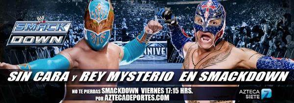 Sin Cara y Rey Mysterio en vivo, Smackdown - sin-cara-rey-mysterio-smackdown