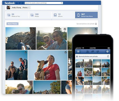 Facebook lanza Photo Sync, sincronización de fotos para iOS y Android - subir-fotos-automaticamente-en-facebook