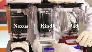 Will It Blend? ahora despedaza un iPad Mini, un Nexus 7 y un Kindle Fire HD