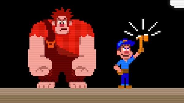 Ralph el Demoledor, una película que ningún videojugador se puede perder - wreck-it-ralph-game