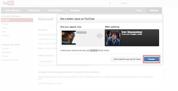 Cómo cambiar el nombre de usuario de Youtube por el de Google Plus - Cambio-usuario-Youtube-5
