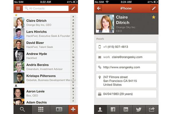 Cobook, una genial agenda alternativa para iOS - Cobook-iPhone