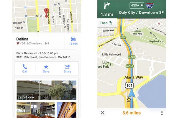 Google Maps para iOS regresa a la App Store y viene cargado de novedades - Google-maps-ios