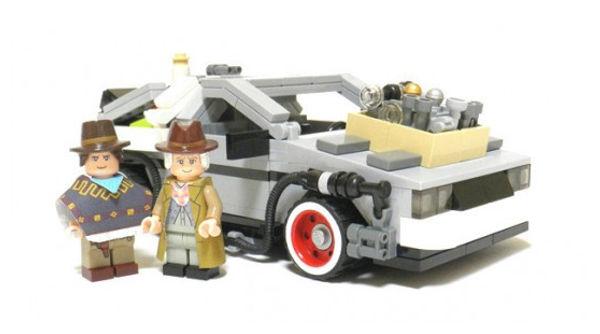 LEGO de Volver al Futuro llegará a mediados del 2013 - LEGO-volver-al-futuro-2