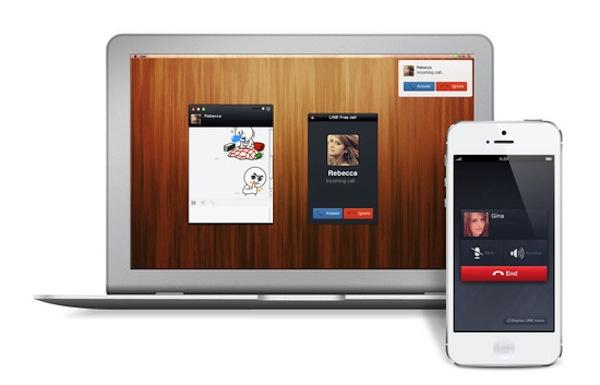 LINE se actualiza y permite llamadas por voz entre dispositivos - LINE-Windows-Mac