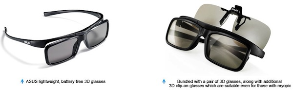 Monitor 3D ASUS VG23AH, una de las mejores pantallas con 3D [Reseña] - Lentes-3D-Asus