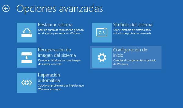 arranque windows 8 Cómo Iniciar Windows 8 en Modo Seguro