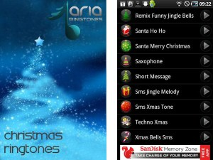 Tonos de navidad para Android con Christmas Ringtones