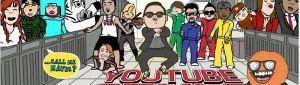 Los videos más vistos de Youtube en el 2012 por los Mexicanos
