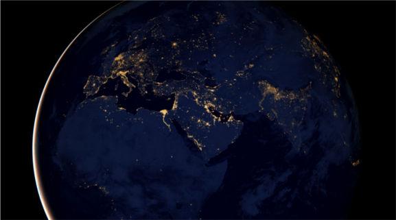 Fotografías de noche de la Tierra son publicadas por la NASA - fotos-de-noche-de-la-nasa-en-europa