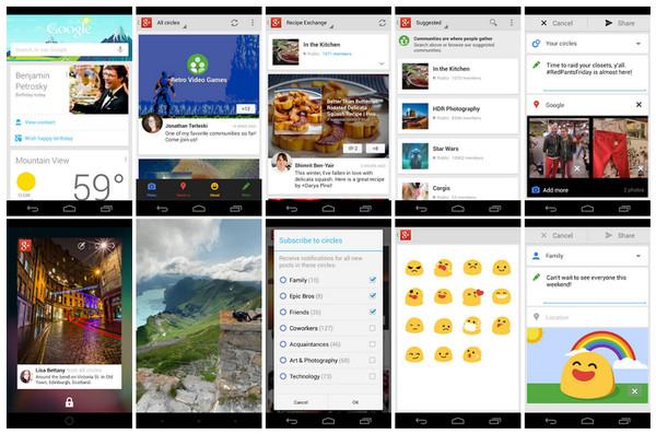 Google+ para Android e iOS se actualiza con interesantes mejoras - google+updates