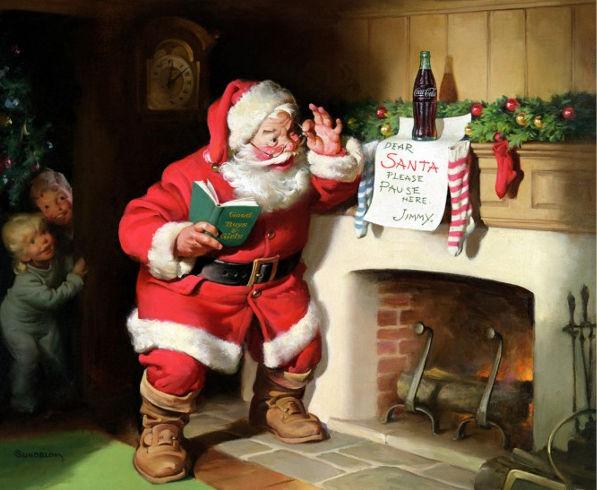 Breve Historia de Papá Noel (Santa Claus) - historia-de-santa-claus