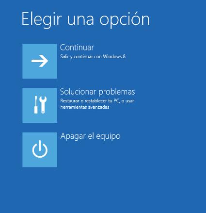 inicio windows 8 Cómo Iniciar Windows 8 en Modo Seguro