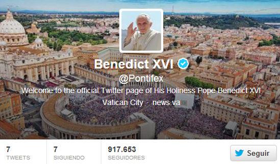 El Papa Benedicto XVI se estrena en Twitter [Video] - papa-publica-su-primer-tweet