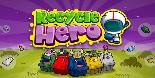 Recycle Hero, juego que enseñará a los niños a reciclar de una manera muy divertida - recycle-hero-yogome