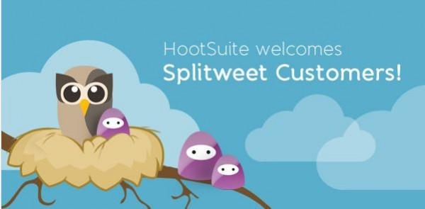 splitweet hootsuite 600x295 Splitweet es adquirido por HootSuite