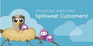 Splitweet es adquirido por HootSuite
