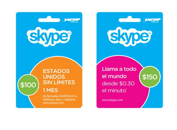 Skype busca promover sus tarjetas en video viral - tarjetas-skype-mexico
