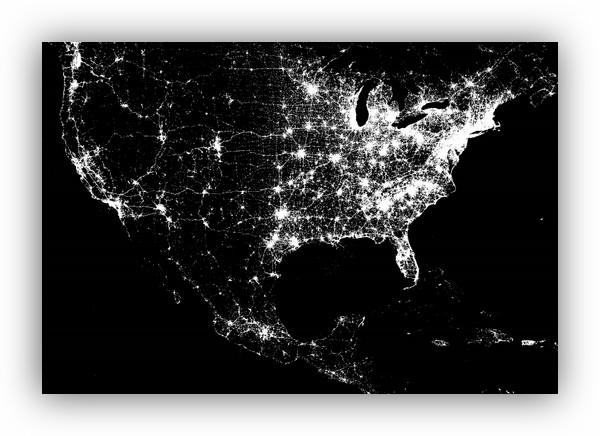 Foursquare nos muestra un mapa con los últimos 500 millones de check-ins - 4sq