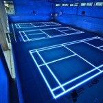 ASB Glassfloor: la cancha de baloncesto al estilo TRON - ASBGlassFloor-badminton