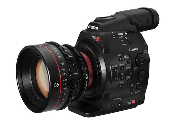 Nuevas Cámaras Canon Cinema EOS C300 y C500 son presentadas en México - Canon-C300