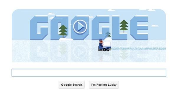 Google conmemora a Frank Zamboni, el inventor de la máquina de hielo con un Doodle interactivo - Frank-Zamboni-Doodle