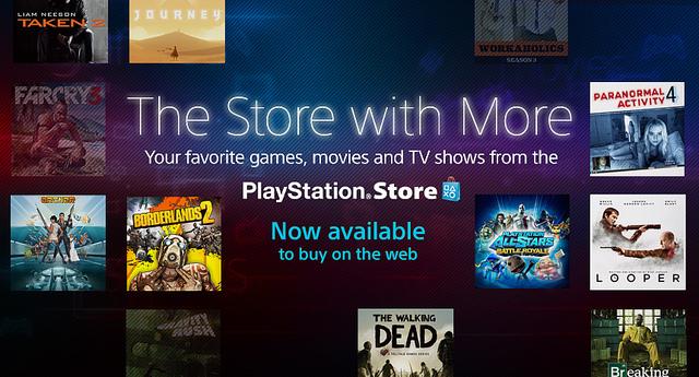 """Sony presenta su tienda en línea """"Sony Entertainment Network"""" - PlayStation-Store-en-la-web"""