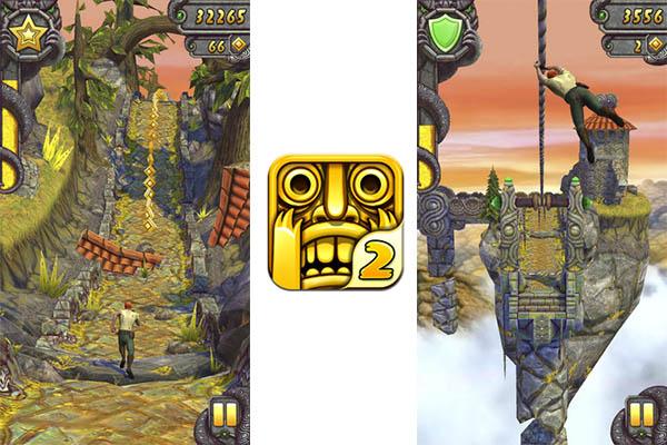 Temple Run 2 para iOS disponible para descargar - Temple-Run-2-iOS