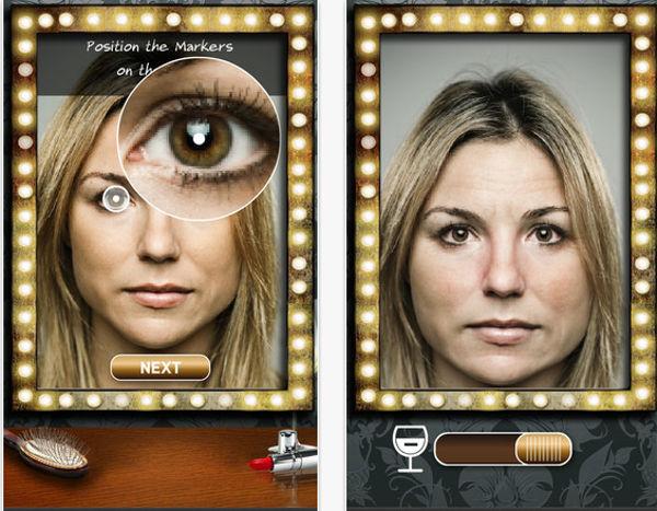 Drinking Mirror, nos muestra como nos veremos en 10 años a causa del alcohol - aplicacon-drinking-mirror