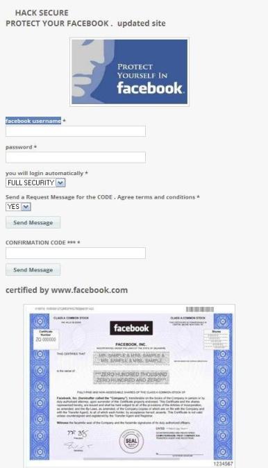 Norton advierte sobre una aplicación que duplica identidades en Facebook - hack-facebook
