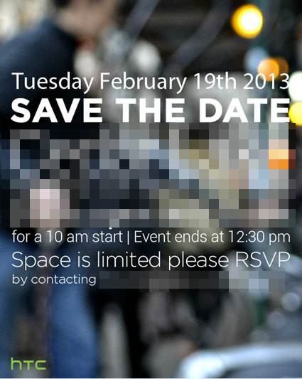 HTC presentará su nuevo teléfono insignia para el 19 de febrero - htc-event-m7