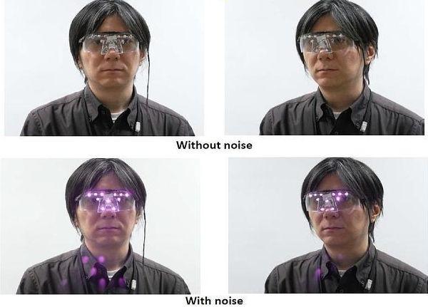 Japoneses inventan unos lentes que impiden ver el rostro cuando te toman una foto - lentes-para-no-ser-reconocidos