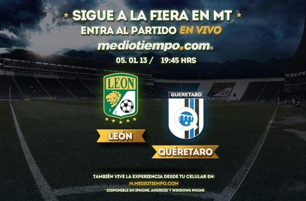 León vs Querétaro en vivo, Clausura 2013 (Liga MX) - leon-queretaro-en-vivo-clausura-2013