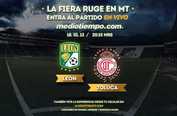 León vs Toluca en vivo, Clausura 2013 (Liga MX) - leon-toluca-en-vivo-clausura-2013