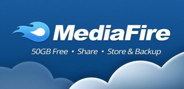 Mediafire para Android ya está disponible con 50GB de almacenamiento gratis - mediafire-android-600x292