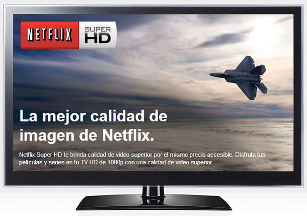 Netflix ahora podrá verse en Super HD - netflix-super-hd