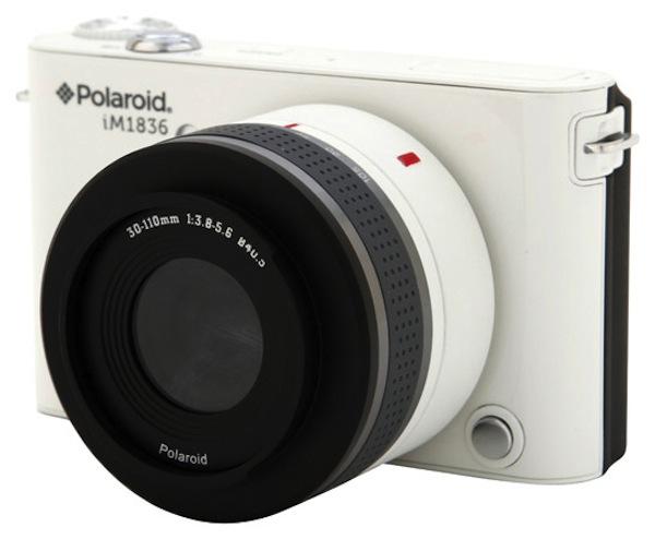Nueva Cámara Polaroid iM1836 sin espejo [CES 2013] - polaroid-im1836