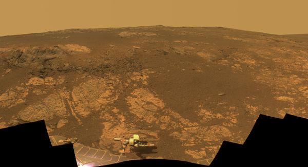 Robot Opportunity cumple 9 años en Marte, comienza la travesía del décimo año - robot-opportunity-en-marte