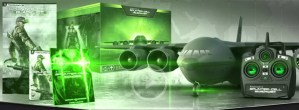 Edición de colección de Splinter Cell: Blacklist trae un avión de control remoto