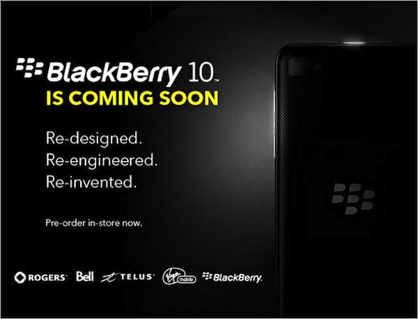RIM transmitirá en vivo el lanzamiento de oficial de BlackBerry 10 - url