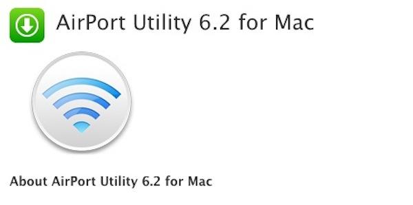 Airport Utility 6.2 para Mac ha sido lanzada por Apple - Airport-Utility-6-2
