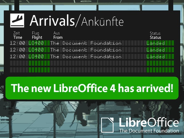 LibreOffice 4.0 está disponible para descargar - Libre-Office-4-0