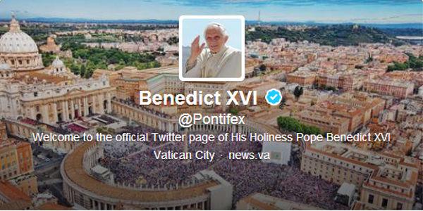 El Vaticano cerrará las cuentas de twitter del Papa Benedicto XVI - cerraran-twitter-del-papa
