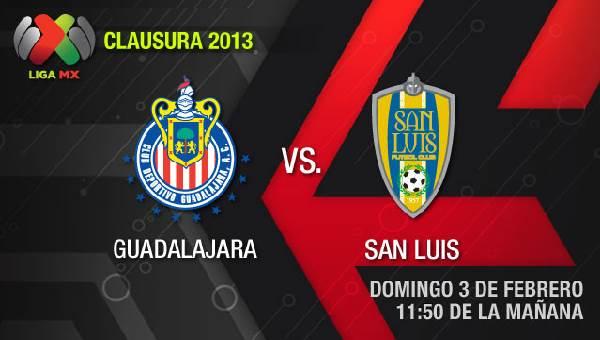 Chivas vs San Luis en vivo, Clausura 2013 (Liga MX - chivas-san-luis-en-vivo-clausura-2013