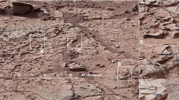 El robot Curiosity recolecta la primera roca de Marte para descubrir si existió agua - curiosity-recolecta-roca